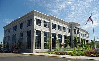 McMinnville, Oregon - Headquarters of the Oregon Mutual Insurance Company