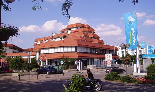 Ortsmitte von Limburgerhof
