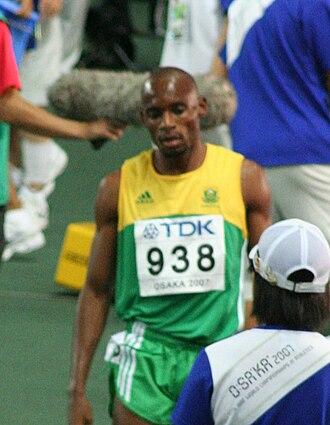 Mbulaeni Mulaudzi - Mulaudzi at the 2007 World Championships