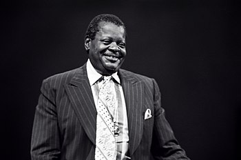 Oscar Peterson in 1977