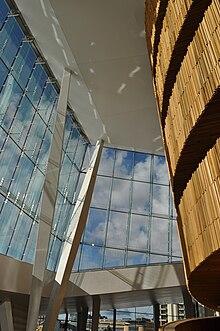 Interno del teatro dell'Opera di Oslo