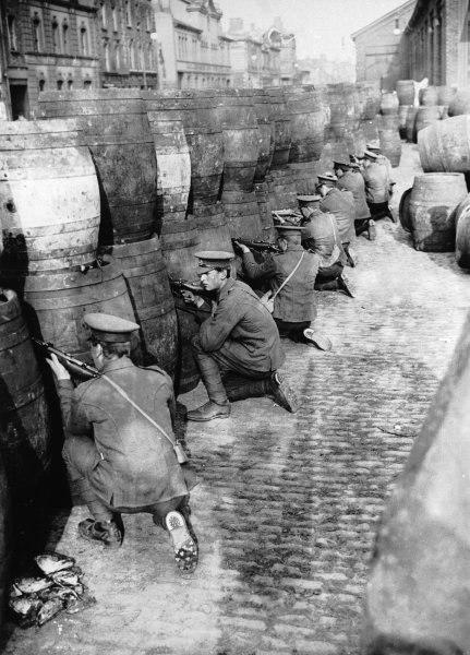 Osteraufstand - Dublin - britisches Militär