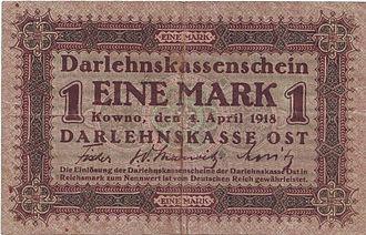 German ostmark - Image: Ostmark
