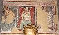Ottaviano nelli e bottega, tre santi, san cristoforo, un vescovo e san sebastiano, xiv secolo.JPG