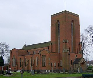 Our Lady of the Angels, Nuneaton Church in Warwickshire, United Kingdom
