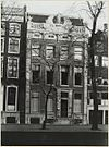 overzicht gevel grachtenhuis - amsterdam - 20319363 - rce