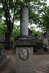 grave of Caroline Rivière