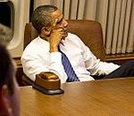 P101112ps-488 Air Force One Obama watches VP debate (cropped).jpg