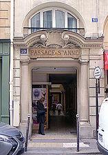 rue saint anne paris