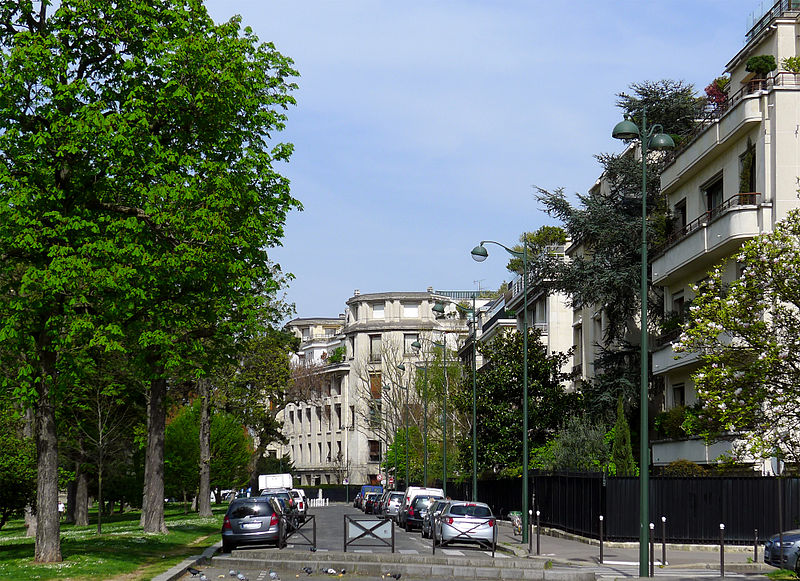 Fichier:P1240615 Paris XVI avenue du Marechal-Maunoury rwk.jpg