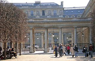 palace and an associated garden located in the 1st arrondissement of Paris