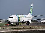 PH-HZF Transavia Boeing 737-8K2(WL) - cn 28378 taxiing, 25august2013 pic-2.JPG