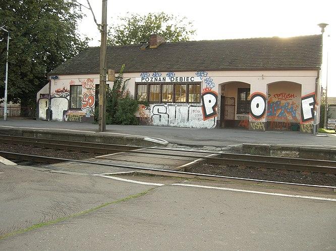 Poznań Dębiec railway station
