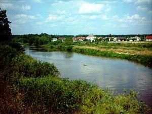 Mała Panew - The Mała Panew near Jedlice