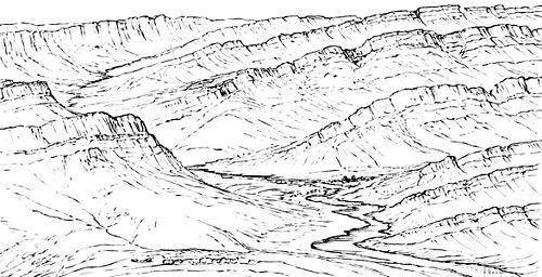 PSM V07 D412 An anaclinal valley.jpg