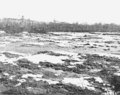 PSM V66 D497 American channel at the niagara falls ice jam march 1903.png