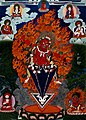 Padmasambhava as Guru Dragmar; Wellcome V0046123.jpg