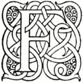 Page vii initial in More Celtic Fairy Tales.png