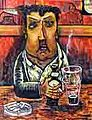 Painting of Brendan Behan by Brian Whelan 2013.jpg