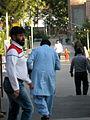 Pakistani pilgrime respect to Mohammad al-Mahruq - Nishapur 1.JPG