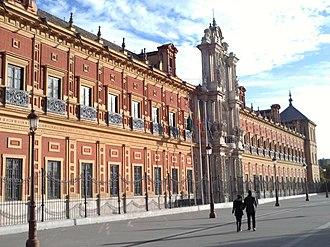 Palacio de San Telmo - General view of the Palace of San Telmo.