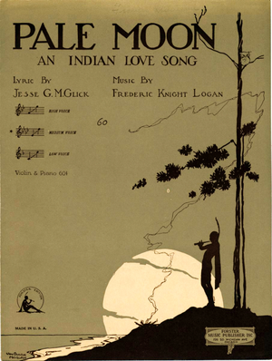 Pale Moon (song) - Image: Pale Moon 1920
