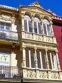 Palencia - Calle Becerro Bengoa nº 5 (fachada en Calle Mayor) 04.jpg