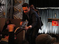 PaleyFest 2011 - The Walking Dead panel - Andrew Lincoln signs for fans (5500585178).jpg