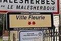 Panneau Ville fleurie Malesherbes Malesherbois 1.jpg