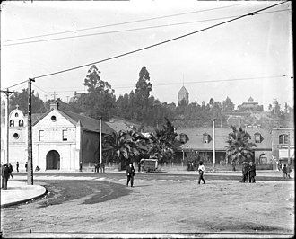 Los Angeles Plaza - Los Angeles Plaza (c. 1905)