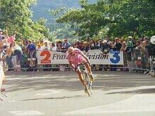 Marco Pantani al Tour de France 2000