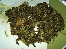 Paparene con le olive nere