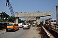 Parama-Park Circus Flyover Under Construction on John Burdon Sanderson Haldane Avenue - Kolkata 2012-05-03 0021.JPG