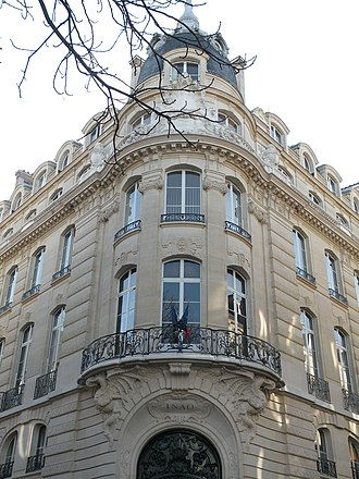 Appellation d'origine contrôlée - Headquarters of the Institut national de l'origine et de la qualité in Paris