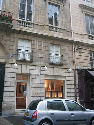 George Antheil -  12, Rue de l'Odéon, Antheil's home in Paris 2004