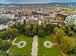 Park in Dublin Iveagh Gardens aerial (21950874150).jpg