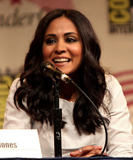 Parminder Nagra at the 2012 WonderCon