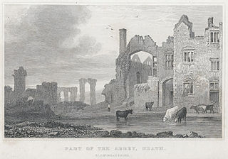 Part of the Abbey, Neath, Glamorganshire