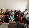 Participants of Telugu Wikipedia Mahilavaranam event held at visakhapatnam.jpg