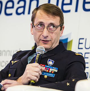 Patrick de Rousiers French Air Force general