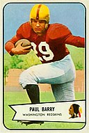 Paul Barry - 1954 Bowman.jpg