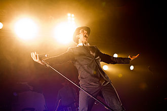 Maxïmo Park - Paul Smith in the Live Music Hall Cologne