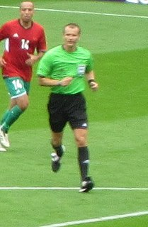 Pavel Královec Czech football referee