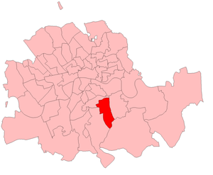 Peckham by-election, 1908 - Peckham in 1908