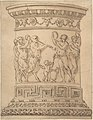 Pedestal with Relief Carving of a Bacchanal with Ornamental Borders. MET DP803146.jpg