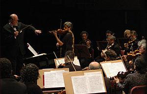Argentine National Symphony Orchestra - Maestro Pedro Ignacio Calderón and the symphony