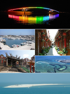 Penghu County in Taiwan Province, Republic of China