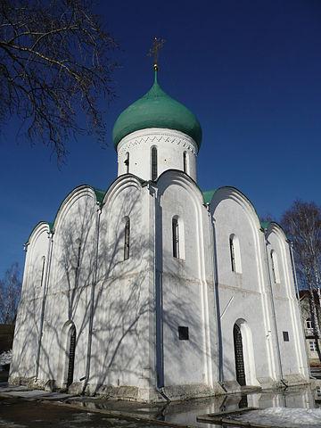 Собор в Переславле, построенный в 1152—1158 гг.