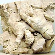 Pergamon Altar - Telephus frieze - panel 25 (2)