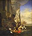 Personnages de fantaisie dans une barque - Jan Weenix - Musée du Louvre.jpg